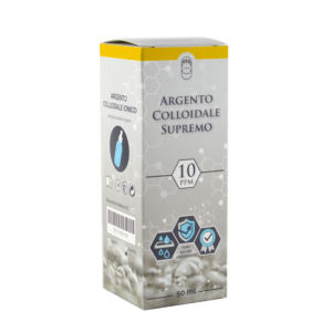 argento colloidale ionico supremo 10ppm 50ml
