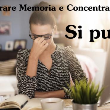 memoria e concentrazione centro naturale