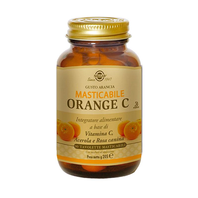 orange c masticabile