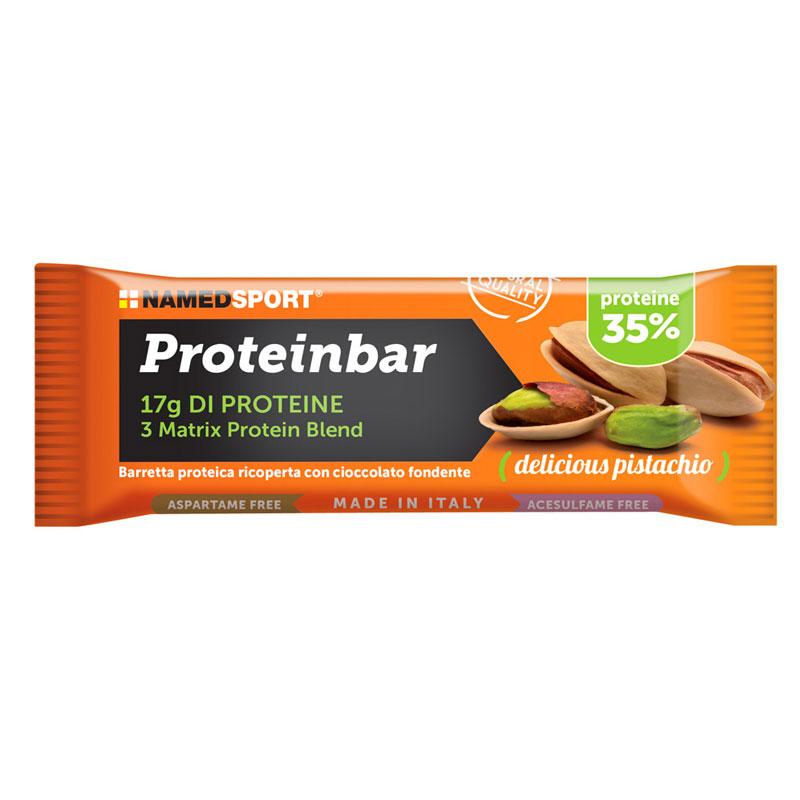 barretta proteica pistacchio