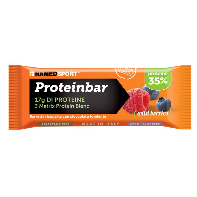 barretta proteica frutti di bosco
